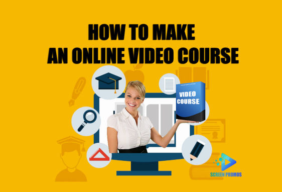 how to make an online video course